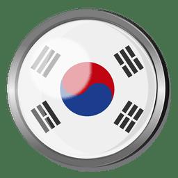 Corea divisa de la bandera