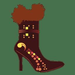 Sapato de moda feminina