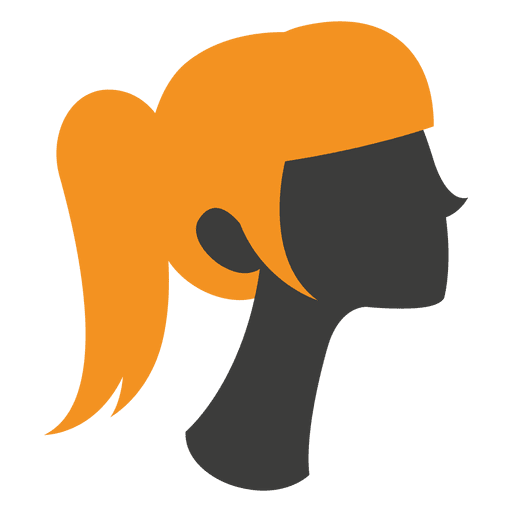 Ladies haircut style 3 Transparent PNG