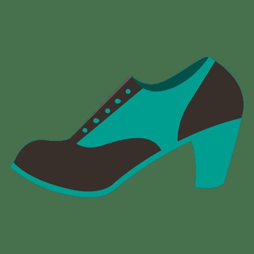 Ladies heel shoe 5 Transparent PNG