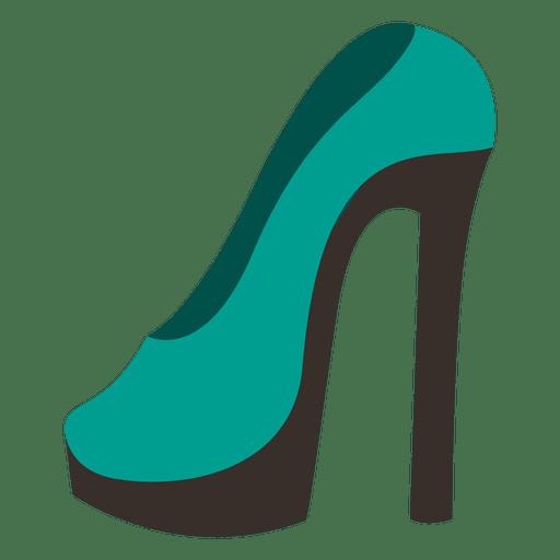 Damen high heel 6 Transparent PNG