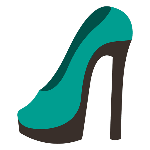 Ladies high heel 6 Transparent PNG