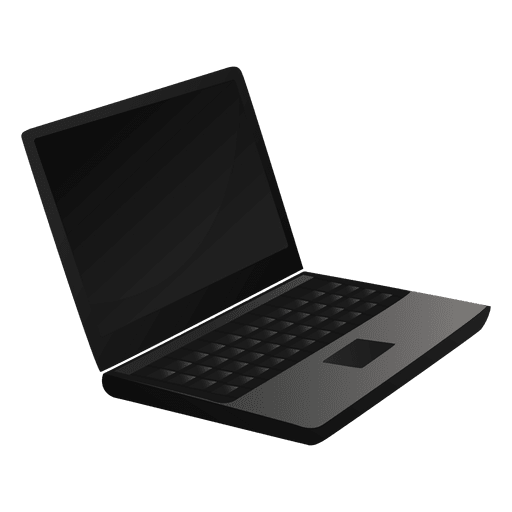 Laptop cartoon icon