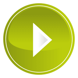 Lime round play button