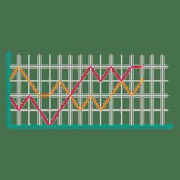 Línea gráfica 7
