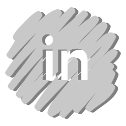 Linkedin distorted icon
