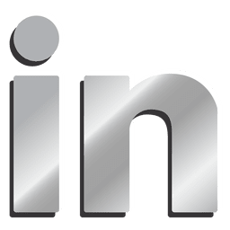 Linkedin Rubber Icon Transparent Png Svg Vector File