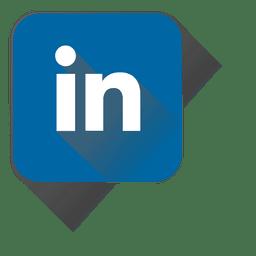 Linkedin squared icon