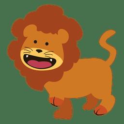 Caricatura de leon