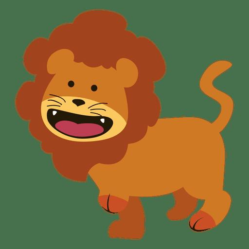 Dibujos animados de león