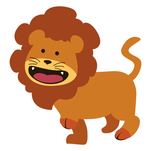 lion cartoon png