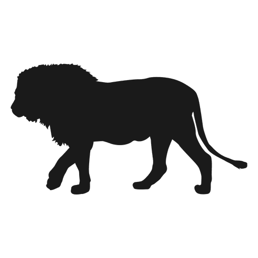 lion silhouette transparent png amp svg vector