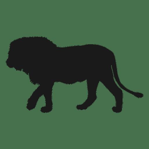 Silhueta de leão