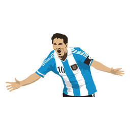 Lionel messi cartoon