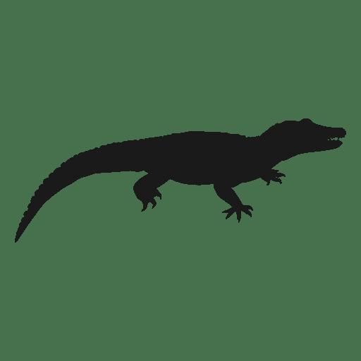 Lizard silhouette Transparent PNG