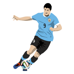 Luis suarez cartoon