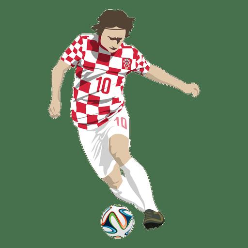 Luka Modrić Image 5: Transparent PNG & SVG Vector