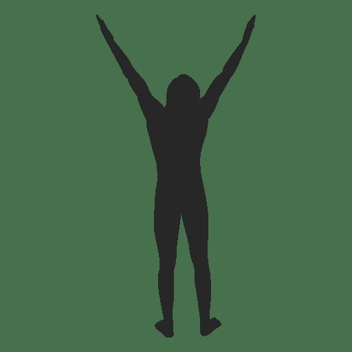 Male celebrating success Transparent PNG