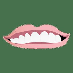 Male mouth cartoon