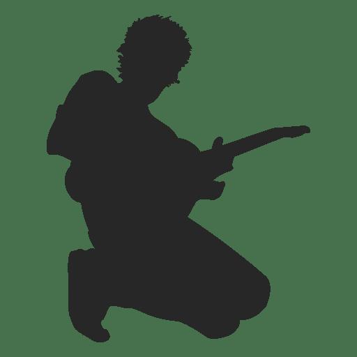 Hombre que toca la guitarra - Descargar PNG/SVG transparente