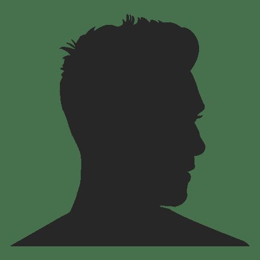 Perfil masculino avatar Transparent PNG