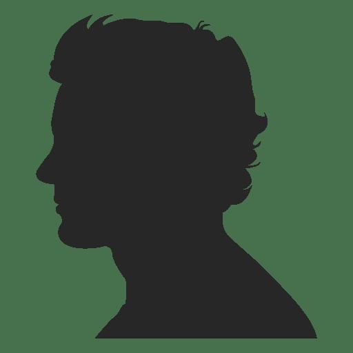 Male profile avatar 1 Transparent PNG