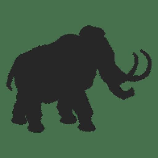 Silueta de mamut