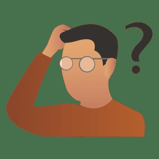 thinking man icon - DriverLayer Search Engine