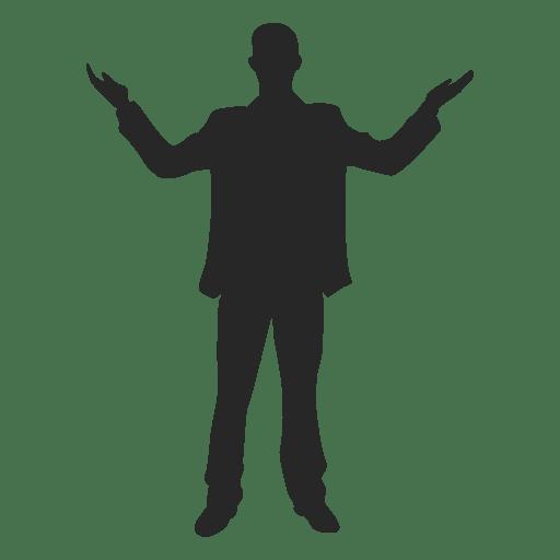 Man celebrating success 5 Transparent PNG
