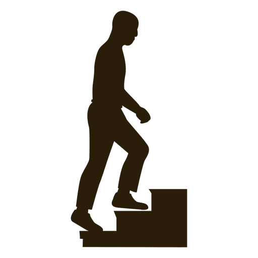Man climbing stairs sequence 10 Transparent PNG