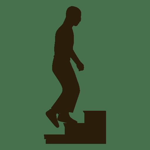 Hombre subiendo escaleras secuencia 3