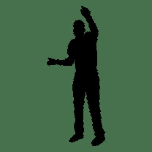 Man Dancing Sihouette 3