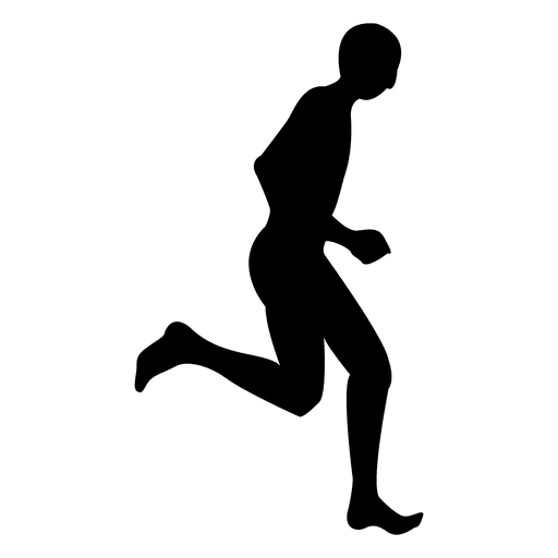Man jogging sequence 4 Transparent PNG