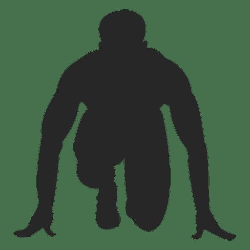 Homem, ligado, corrida, marca Transparent PNG