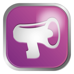 Megaphone contact icon