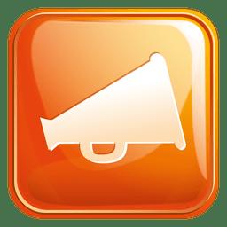 Megaphone square icon 3