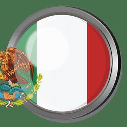 Mexico flag badge