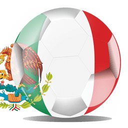 Mexico football flag