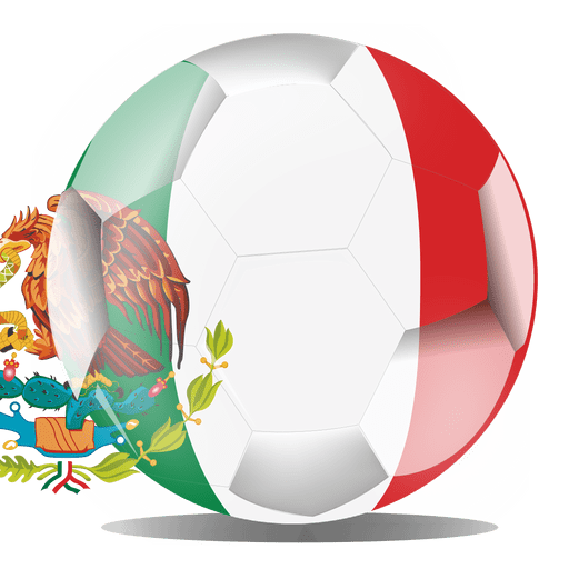 Mexico football flag png