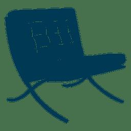 Mies van der Rohe Stuhl
