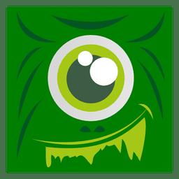 Arte de cara de monstro