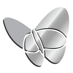 Msn plata icono aislado