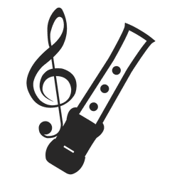 Musical Notes Silhouette