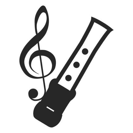 Musical Notes Silhouette Transparent PNG