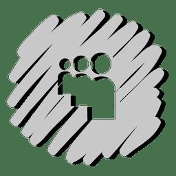 Myspace distorted icon