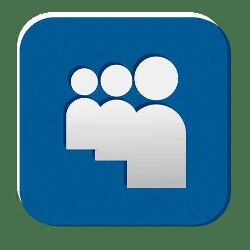 Myspace rubber icon Transparent PNG