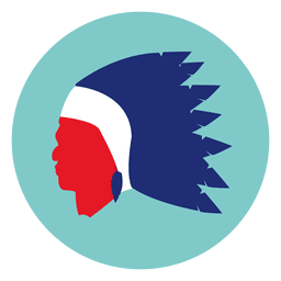 Native mask round icon