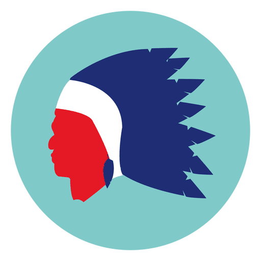 Native mask round icon Transparent PNG