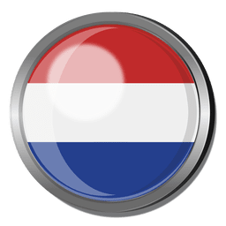 Netherlands flag badge