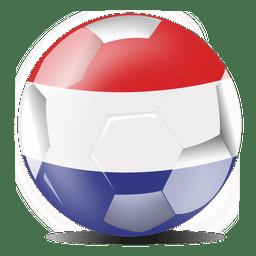 Bandera de fútbol de Holanda